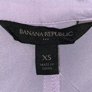 Banana Republic Factory Tops - 🌸 BANANA REPUBLIC SHORT SLEEVE BLOUSE VIOLET! 🌸
